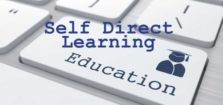 self direct learning button